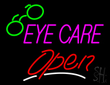 Pink Eye Care Red Open LED Neon Sign