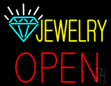 Jewelry Block Open LED Neon Sign