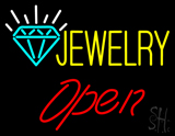 Jewelry Open LED Neon Sign