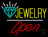 Jewelry Logo Open LED Neon Sign