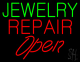Open Jewelry Repair LED Neon Sign