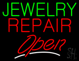 Jewelry Repair Open LED Neon Sign