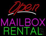 Open Mailbox Rental LED Neon Sign