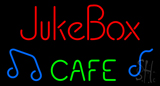 Juke Box Cafe Neon Sign