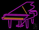 Piano Logo LED Neon Sign