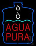 Agua Pura Neon Sign