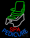 Spa Pedicure Chair Logo Neon Sign