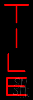 Tile Neon Sign