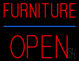 Furniture Block Open LED Neon Sign