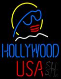 Hollywood USA LED Neon Sign