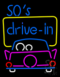 50s Drive In LED Neon Sign