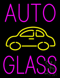 Auto Glass Block Logo LED Neon Sign