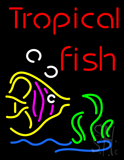 Tropical Fish with Logo Neon Sign