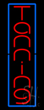 Vertical Tanning Extra Large LED Neon Sign