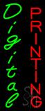 Vertical Digital Printing Neon Sign