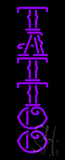Vertical Purple Tattoo LED Neon Sign