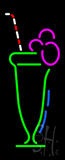 Juice Logo Neon Sign