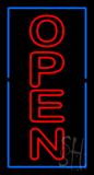 Open - Vertical Extra Large LED Neon Sign