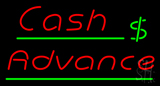 Cash Advance LED Neon Sign