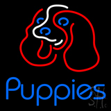Puppies LED Neon Sign