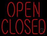 Open Closed LED Neon Sign