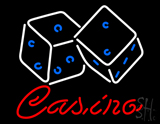 Casino Dice LED Neon Sign