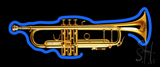 Trumpet Shaped LED Neon Sign