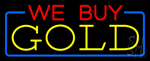 We Buy Gold Neon Sign