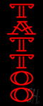 Double Stroke Red Tattoo Neon Sign