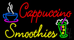 Cappuccino Smoothies Neon Sign