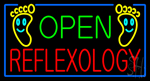 Open Reflexology Neon Sign