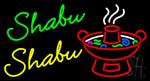 Shabu Shabu Neon Sign