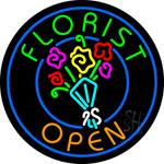 Florist Open Neon Sign