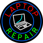 Laptop Repair Neon Sign