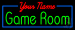 Custom Gameroom Neon Sign