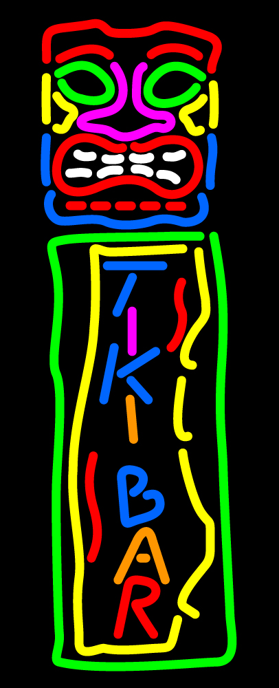 Tiki Bar LED Neon Sign