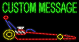 Custom Dragster Car Led Sign