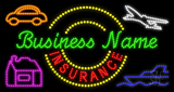 Custom Insurance Led Sign
