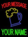 Custom Beer Mug Logo Led Sign
