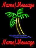Custom Palm Tree 1 Led Sign