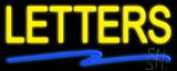 Custom Swish Line Neon Sign