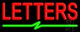 Custom Bolt Line Neon Sign