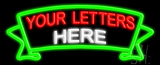Custom Ribbon Neon Flex Sign