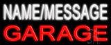 Custom Garage Neon Flex Sign