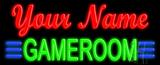 Custom Green Game Room LED Neon Sign