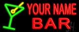 Custom Martini Glass Bar Neon Flex Sign
