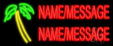 Custom Palm Tree Neon Flex Sign