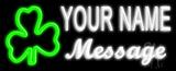 Custom Shamrock Neon Flex Sign