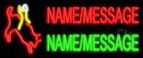 Custom Bull Rider Neon Flex Sign