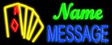 Custom Casino Neon Flex Sign